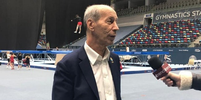Azerbaijani gymnast Mikhail Malkin has big chances to win gold at the upcoming World Cup in Trampoline Gymnastics and Tumbling, Adil Huseynzade, head coach of the Azerbaijani team in tumbling, told Trend.