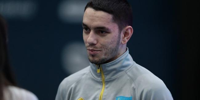 Казахстанский спортсмен поблагодарил Федерацию гимнастики Азербайджана за предоставленные условия