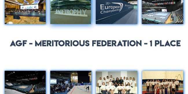 The first place belongs to Azerbaijan Gymnastics Federation again