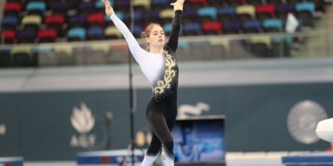 Our gymnast reaches another Final