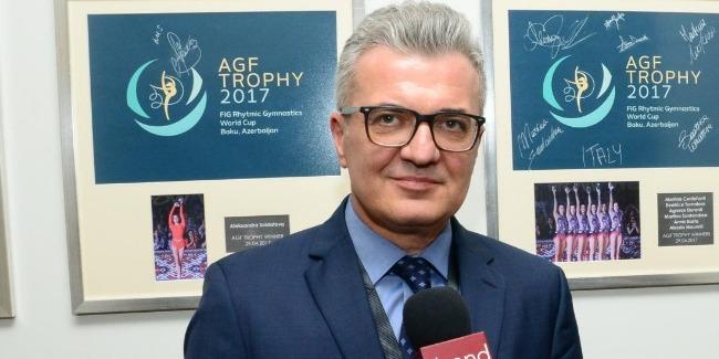 В Азербайджане потрясающая Национальная арена гимнастики - хорватский дипломат