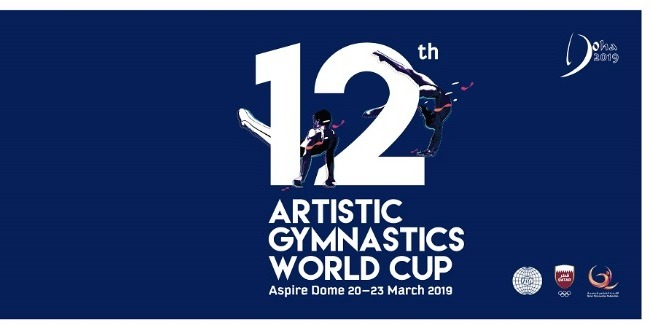 Azerbaijani Artistic gymnasts perform at the World Cup