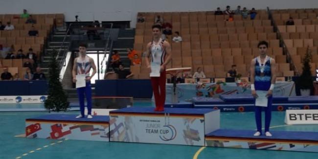 "Samad Mammadli wins the ""Bronze"" in the International Tournament"