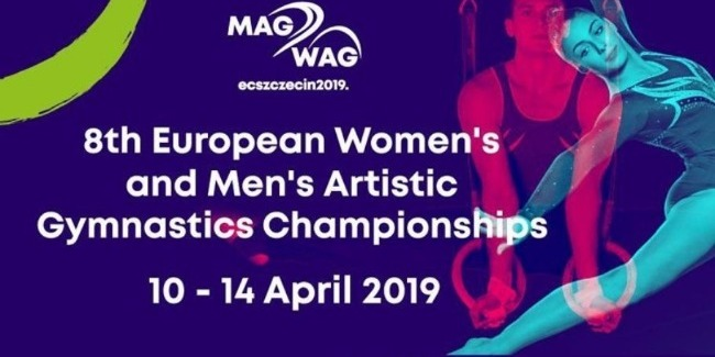 The Azerbaijani Artistic Gymnasts complete their performances at the European Championships