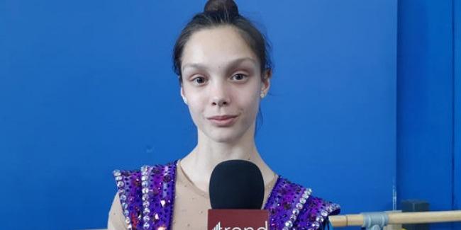 В Национальной арене гимнастики в Баку очень удобно выступать – израильская гимнастка
