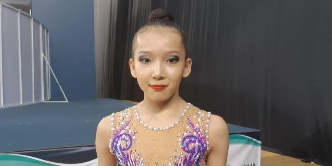 Федерация гимнастики Азербайджана создала для спортсменов все необходимые условия – гимнастка из Казахстана
