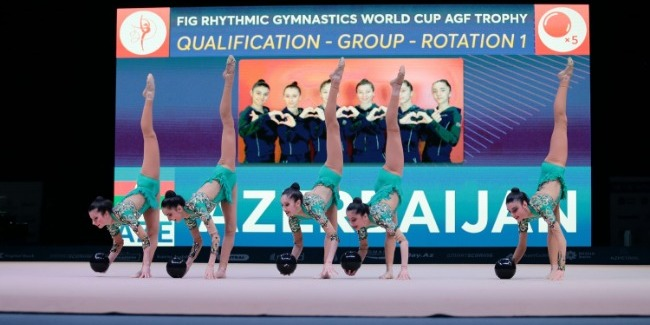 Azerbaijani gymnasts continue to perform at the World Cup
