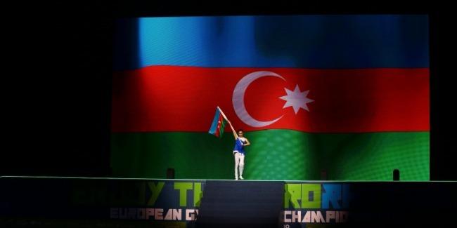 Bədii gimnastika üzrə Avropa Çempionatının ən maraqlı məqamları fotolarda