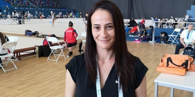İsrailli məşqçi: Bakı Milli Gimnastika Arenası dünyada ən yaxşı arenadır