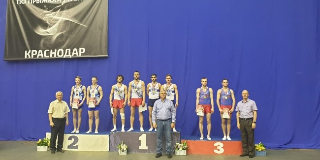 Azerbaijani jumpers become the Gold medalists in Russia