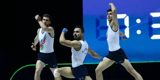 Aerobic gymnasts are already in Baku