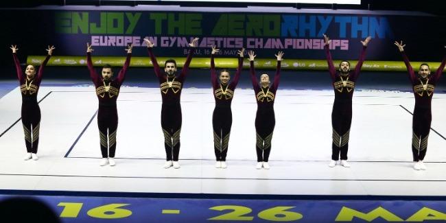 Bakıda aerobika gimnastikası üzrə 11-ci Avropa çempionatının final mərhələsi start götürüb