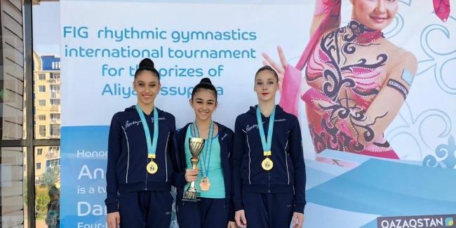 Narmin Bayramova becomes the Bronze medalist