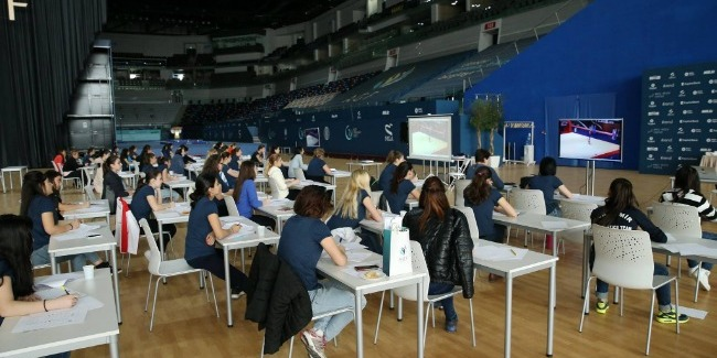 AGF announces the coaches` and judges` courses in Rhythmic Gymnastics open