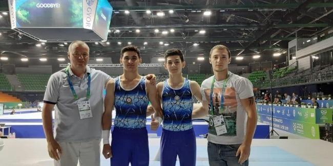 Azerbaijani gymnasts perform at the 1st Junior World Championships