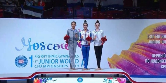 Arzu Jalilova becomes two-time Worlds` medalist