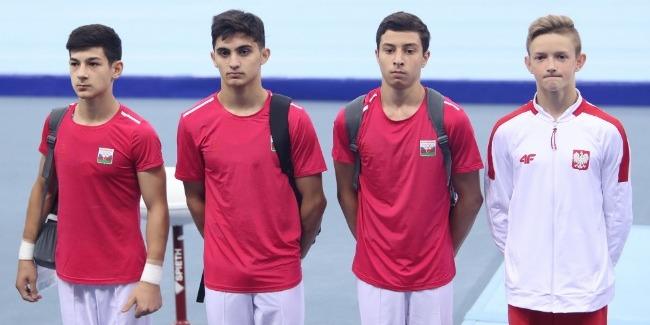 Samad Mammadli reaches 3 finals as part of EYOF Baku 2019
