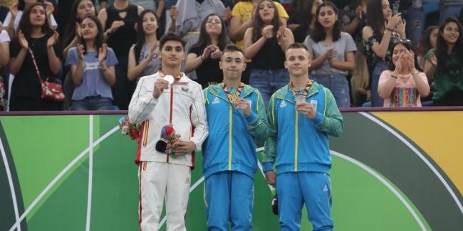 Səməd Məmmədli Avropa Gənclər Olimpiya Festivalının gümüş medalını qazandı.