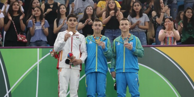 Samad Mammadli becomes the Silver medalist of the European Youth Olympic Festival