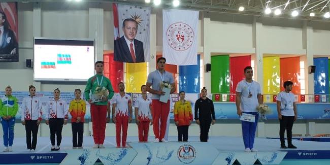Murad və Cavidan Türkiyədən medallarla qayıdır