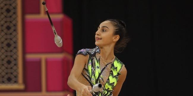The acquaintance with the representatives of Azerbaijan at the World Championships: Zohra Aghamirova