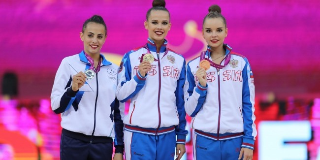 Bədii gimnastika üzrə Dünya Çempionatının ikinci günü yekunlaşdı