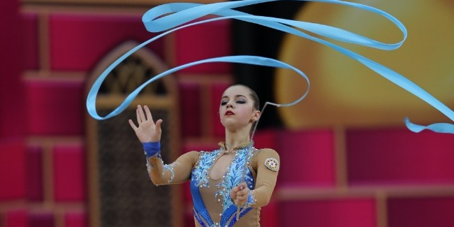 The third day`s results of the 37th FIG Rhythmic Gymnastics World Championships