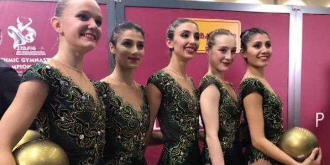 Сборная Азербайджана в групповых упражнениях получила лицензию на Олимпийские игры