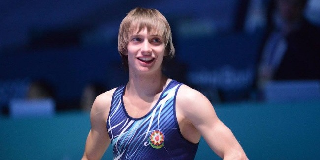Mikhail Malkin wins the Gold medal at the World Cup