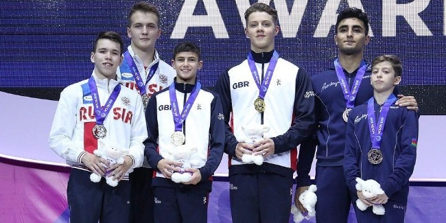 The first medal`s joy on the 1st day of the European Championships