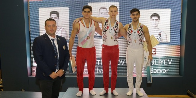 Joint competitions in 4 gymnastics disciplines come to an end in Sumgayit
