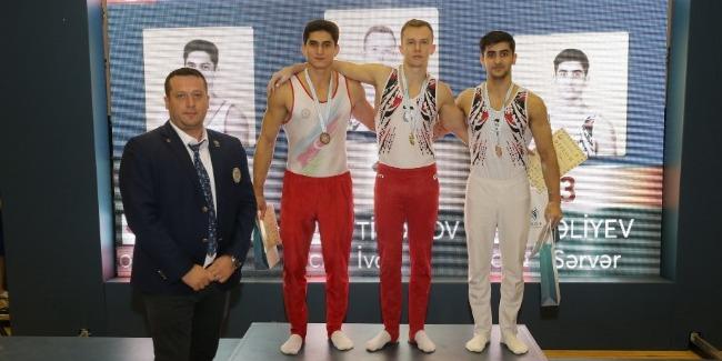 Sumqayıtda 4 gimnastika növü üzrə birgə yarışlar sona çatdı