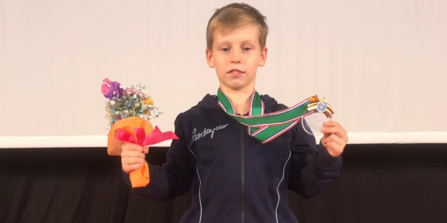 Gold medal from Aleksey Karatashov!
