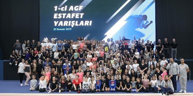 Azərbaycan Gimnastika Federasiyası ilk dəfə olaraq estafet yarışları təşkil etdi