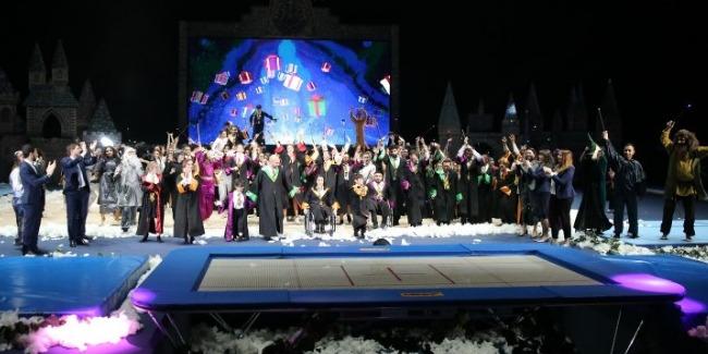 Unity and Friendship wins a victory at Milli Gimnastika Arenası once again