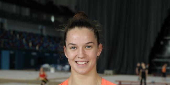 В Баку созданы комфортные условия для тренировок, проживания и отдыха гимнастов – израильская спортсменка Николь Зеликман