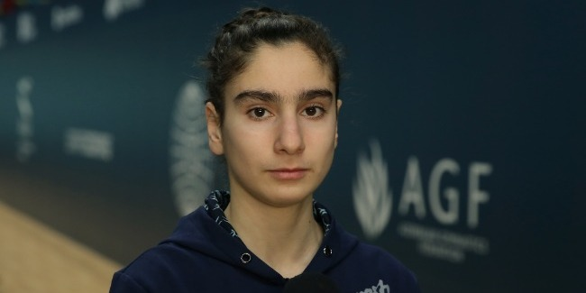 Gymnast Seljan Mahmudova to channel all energy at upcoming World Cup