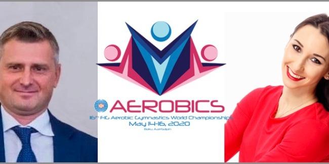The Ambassadors of the Aerobic Gymnastics World Championships are announced
