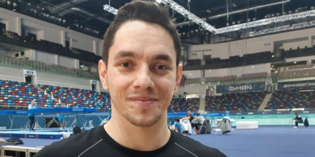 Bakıda bizi çox səmimi qarşıladılar - Qazaxıstan gimnastı