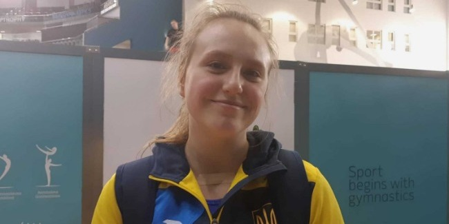 Рада, что Кубок мира проходит именно в Баку – украинская гимнастка