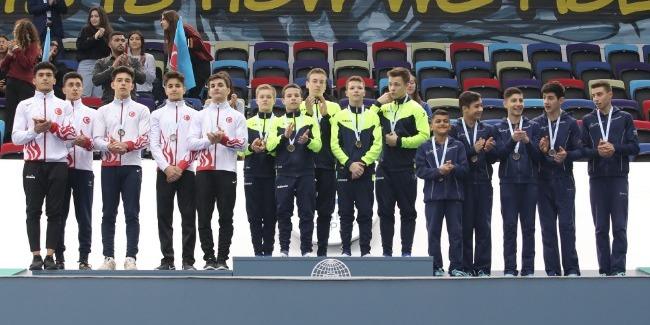 Гимнасты Азербайджана стали 3-ми в командном зачёте