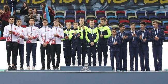 Azerbaijani team wins bronze medal in Team Competition