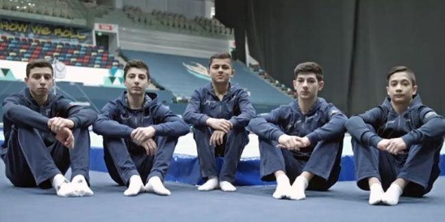 Азербайджанские спортсмены вступают в борьбу в шести финалах Международного турнира по мужской спортивной гимнастике AGF Junior Trophy